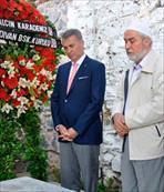 Beşiktaş'ta Şeref Bey mezarı başında anıldı
