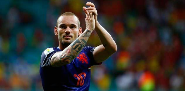 Sneijder'e büyük onur