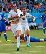 Uruguay, İtalya'yı ısırdı!