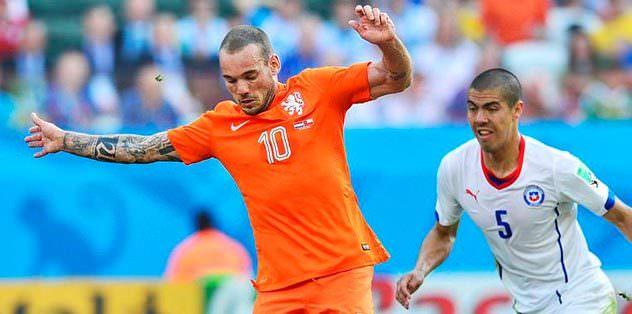Sneijder rekora doğru