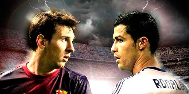 Ronaldo güçlü, Messi yetenekli