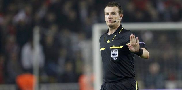 Dortmund maçına Çek hakem