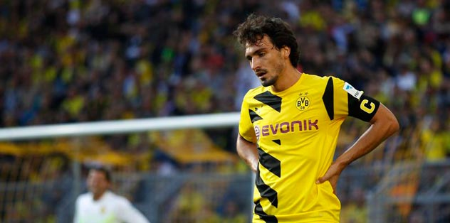 Dortmund'da Hummels şoku: 6 hafta yok!
