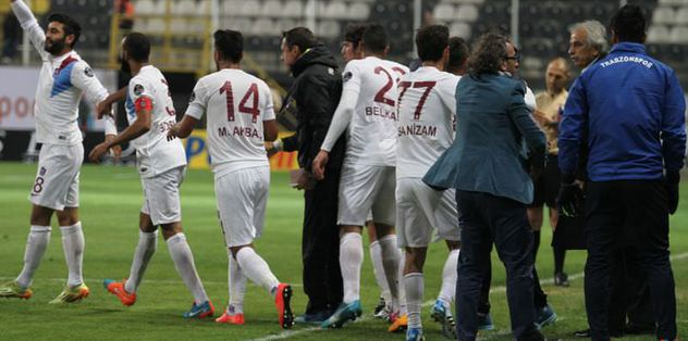 Trabzonspor, Belçika yolcusu