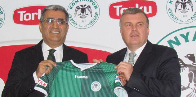 Torku Konyaspor'a 'şeker' gibi sponsor