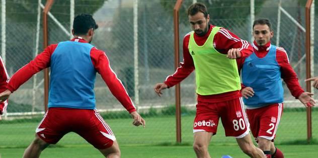 Sivas'ta Eskişehirspor mesaisi başladı