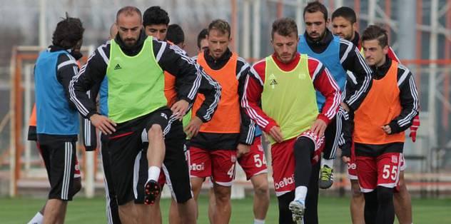 Sivasspor, Eskişehir'e hazırlanıyor