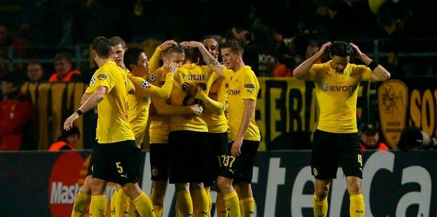 Dortmund gruptan çıktı