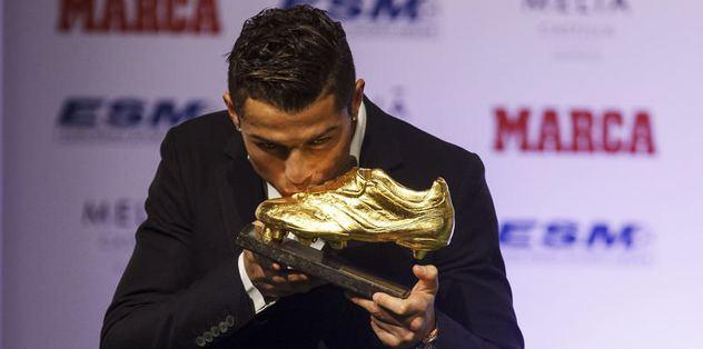 Altın ayakkabı Ronaldo'nun