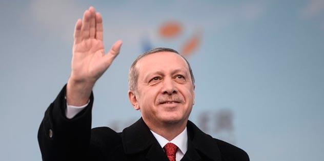 Erdoğan'a tesekkür