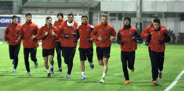 Trabzonspor'da Konya hazırlıkları