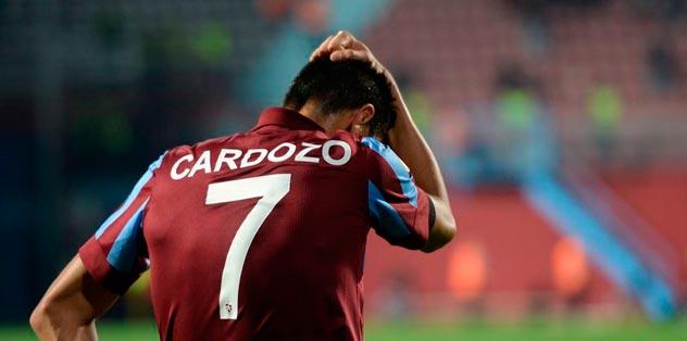 Oscar Cardozo için sert tepki