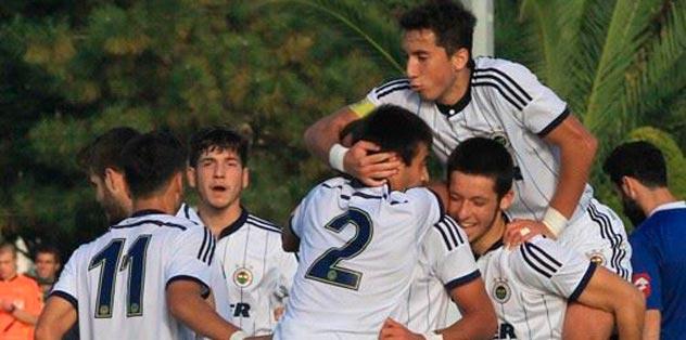 U21 takımı 3-2 kazandı