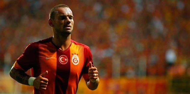 Sneijder Fenerbahçe yolcusu