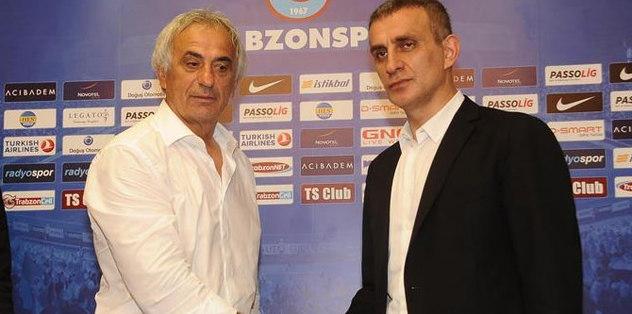 Trabzonspor'dan Halilhodzic açıklaması
