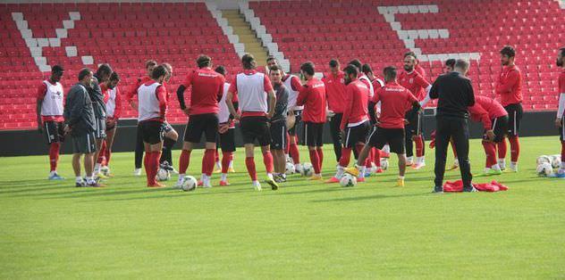 Balıkesirspor Sivas maçına odaklandı