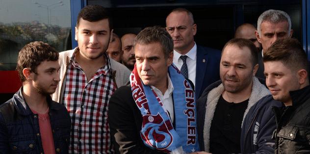 Ersun Yanal, Trabzon'a geldi