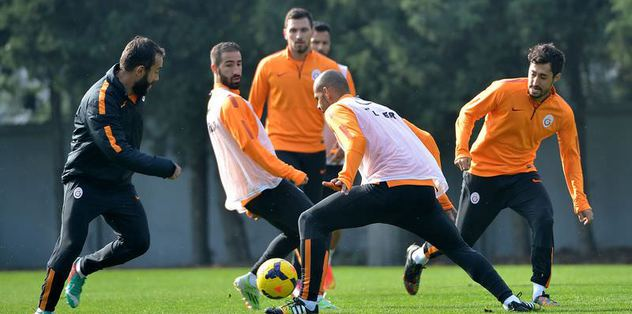 G.Saray'da Trabzonspor hazırlıkları
