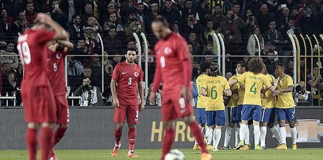 Brazil burns down Turkey