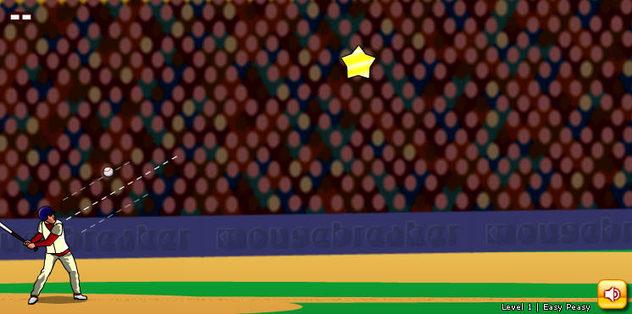 Beyzbol Topuyla Yıldız Vurma