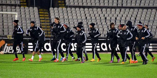 Beşiktaş, Paşa'ya hazırlanıyor
