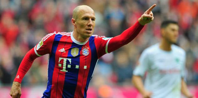 Robben favorilerini açıkladı