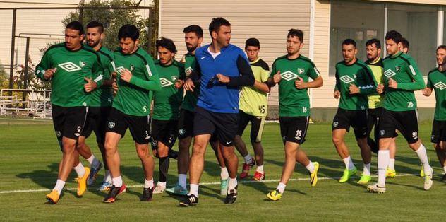 Denizli'de Antalyaspor hazırlıkları