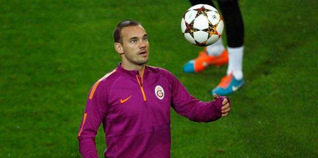Takımın beyni Sneijder