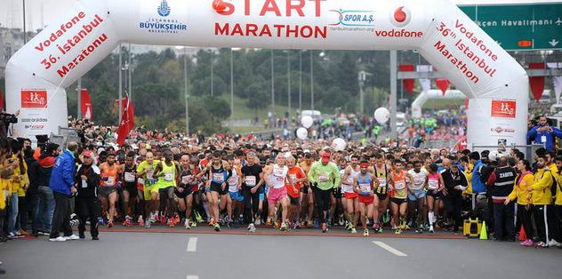 36. Vodafone İstanbul Maratonu sona erdi