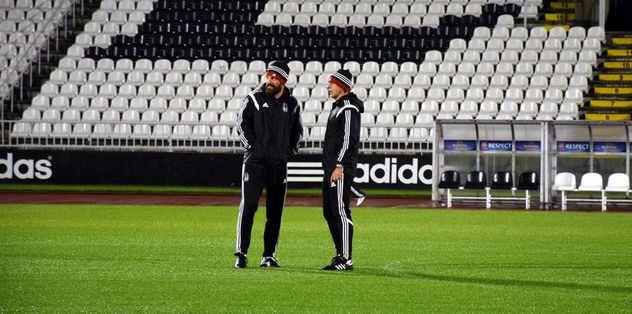 Beşiktaş'ta Kasımpaşa hazırlıkları sürdü