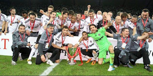 Beşiktaş'ın kupası kayıplara karıştı
