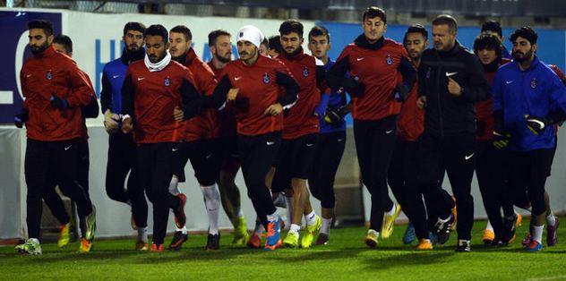 Trabzonspor'da G.Saray hazırlıkları