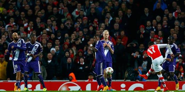 Anderlecht'in gözü korktu