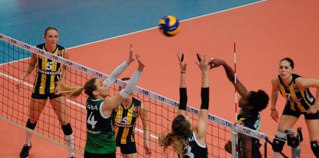 Fenerbahçe'den tek set: 3-1