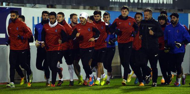 Trabzonspor İstanbul'a hareket etti