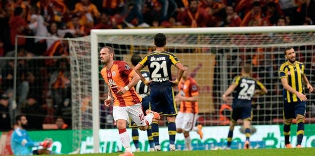 Sneijder'den F.Bahçe iması