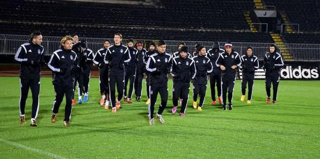 Beşiktaş'ta gözler Avrupa Ligi'ne çevrildi