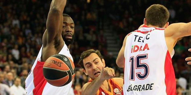 Basket maçında rakip olmaz