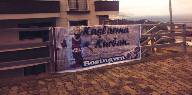 Kaşlarına kurban Bosingwa