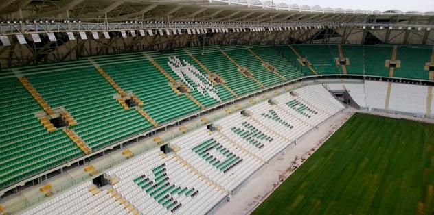 Kartal'ın yeni yuvası Torku Arena