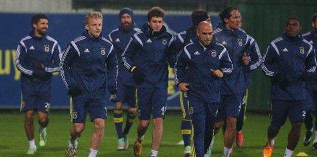 F.Bahçe'de Eskişehirspor hazırlıkları