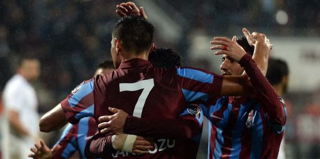 Trabzonspor - Metalist Kharkiv maçı
