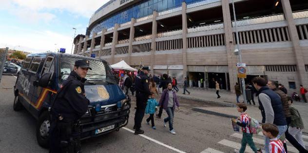 Madrid'de futbol terörü: 1 ölü