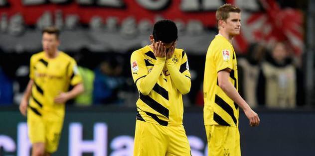Dortmund son sıraya geriledi