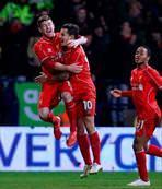 Liverpool turladı: 2-1
