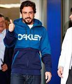 Alonso taburcu oldu