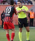 "Gaziantepspor'da ""penaltı"" tepkisi"