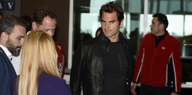 Federer İstanbul'da!