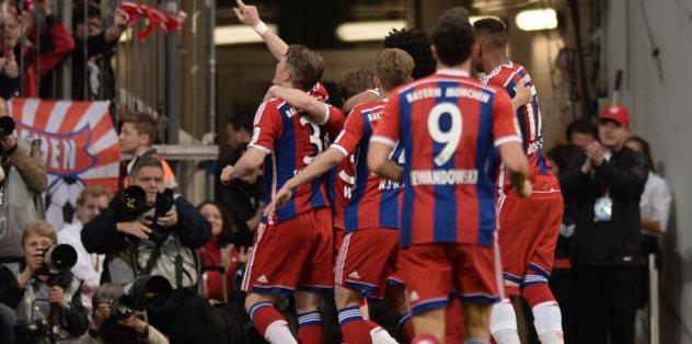Bayern Munich win Bundesliga