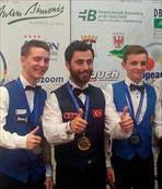 Berkay Avrupa Şampiyonu